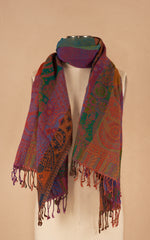 Boiled Wool Shawl, Jamica