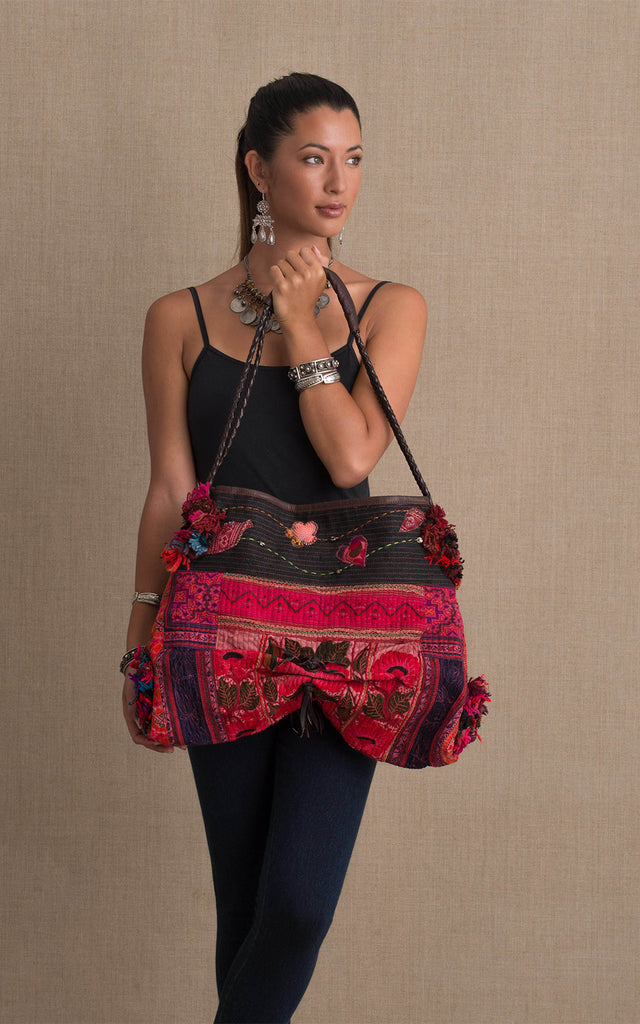 Hill Tribe Boho Shoulder Bag