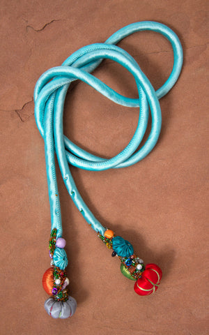 Silk Cord, Light Turquoise