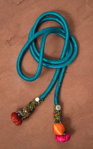 Silk Cord, Bright Turquoise