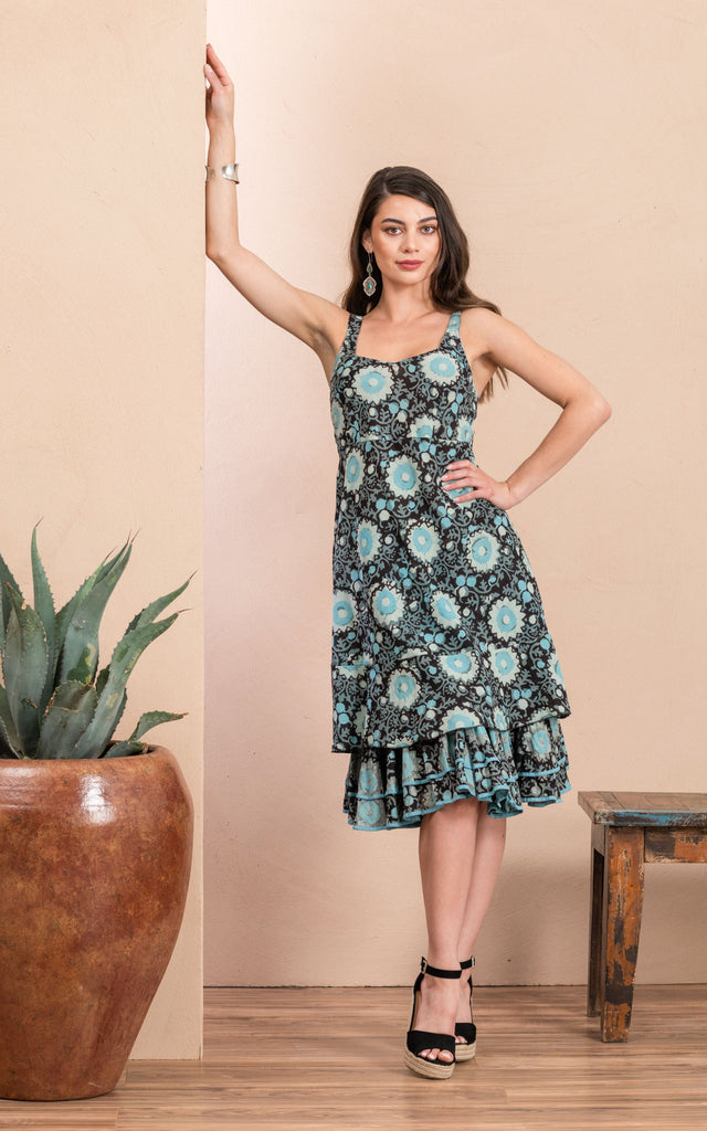 Yuma Slip Dress, Sleeping Beauty