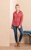 Regina Blouse, Davina Red