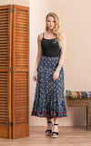 Macarena Skirt, Long, Morning Glory
