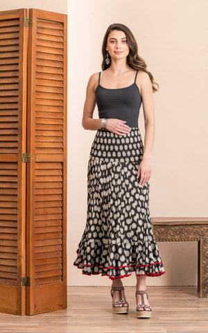 Macarena Skirt, Long, Aziza