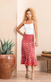Macarena Skirt, Short, Davina Red