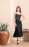 Macarena Skirt, Short, Solid Black