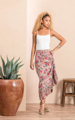 Victorian Skirt, Long, Desert Bloom