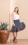 Macarena Skirt, Mini, Morning Glory