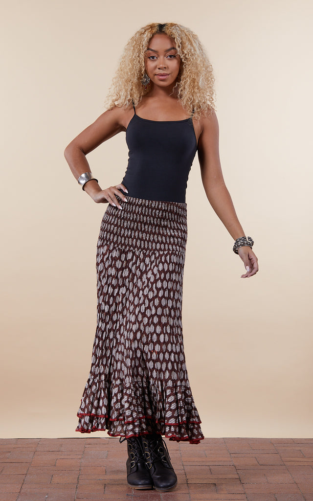 Macarena Skirt, Long, Earth Angel