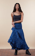 Macarena Skirt, Long, Tula Indigo