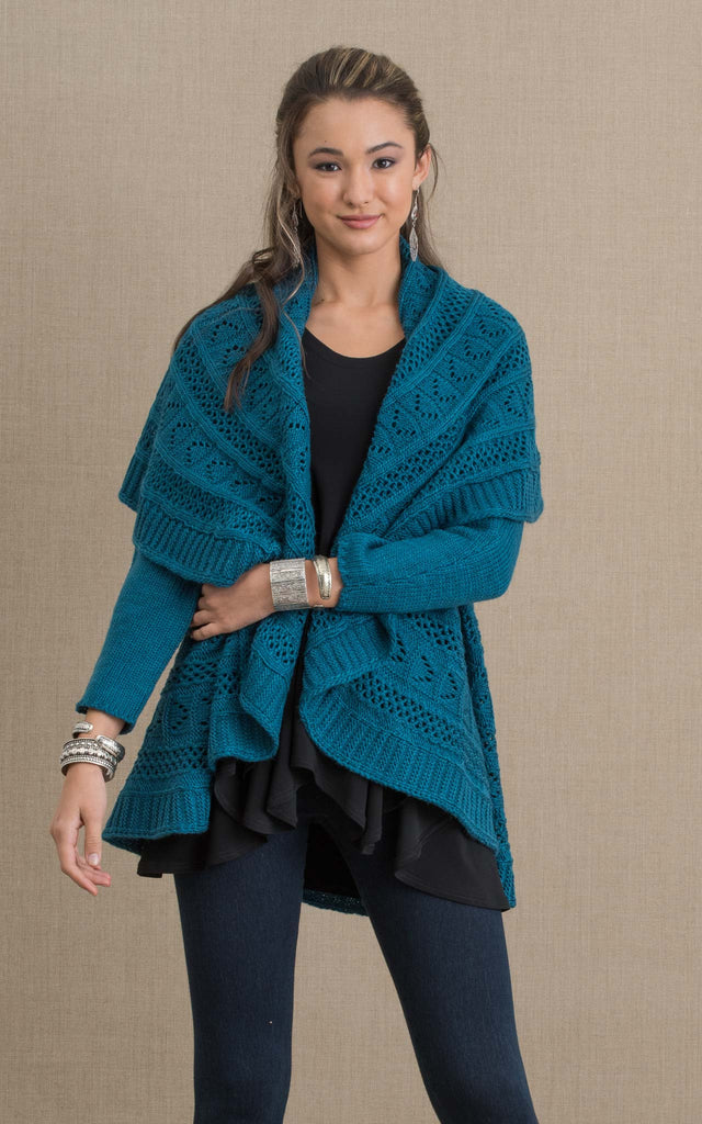 Pueblo Sweater, Teal