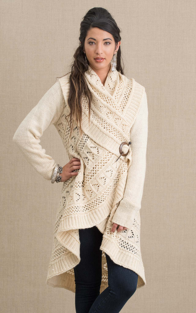 Pueblo Sweater, Cream
