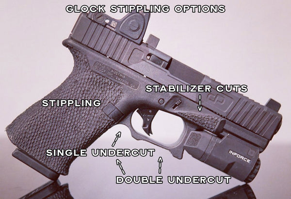 Glock Stippling and Custom Framework Options by Integral Defense Group