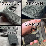 stippling patterns for sig and glock frame work by integral defense group