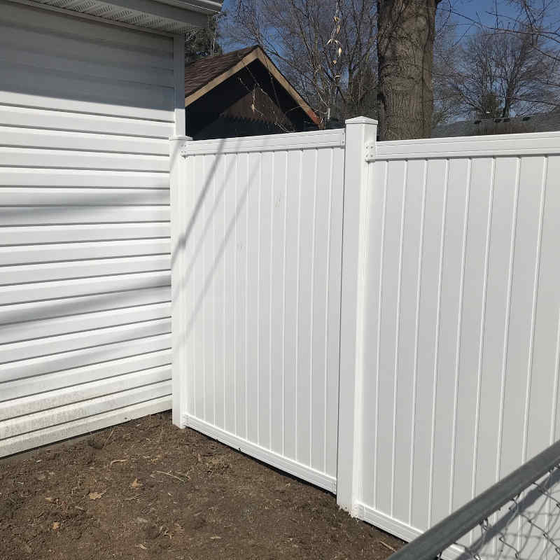 After - Privacy Fence