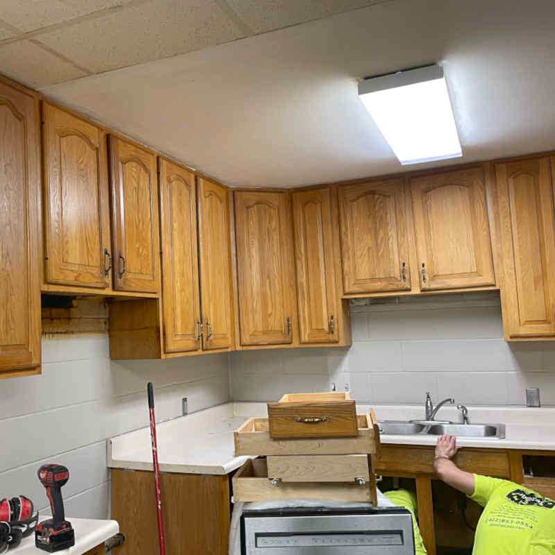 Old, Outdated Kitchen