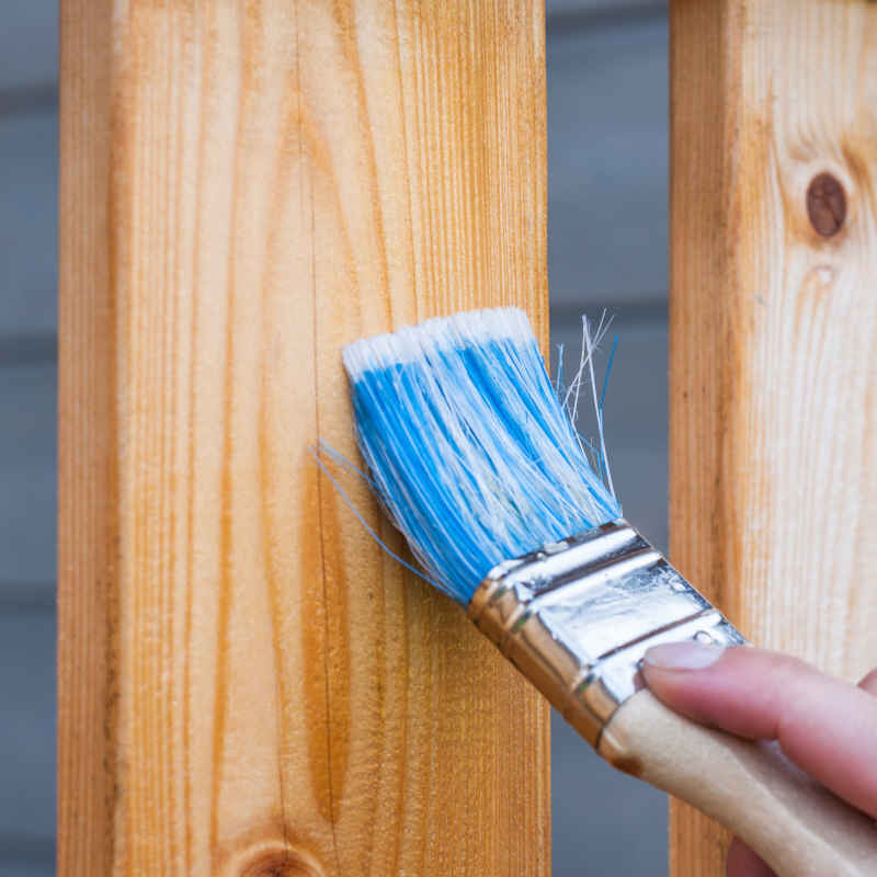 Paint or Sealant Application