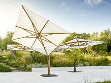 Load image into Gallery viewer, Jardinico Carectere JCP-501 Multi Arm Centre Pole Commercial Giant parasol with Base