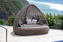 Load image into Gallery viewer, Skyline Design Kubu Mushroom Shade Rattan Garden Daybed