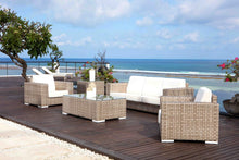 Load image into Gallery viewer, Skyline Design Brando Five Seat Rattan Garden Sofa Set with Rattan finish options