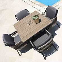 Load image into Gallery viewer, Skyline Design Chatham Four Seat Square Garden Dining Set