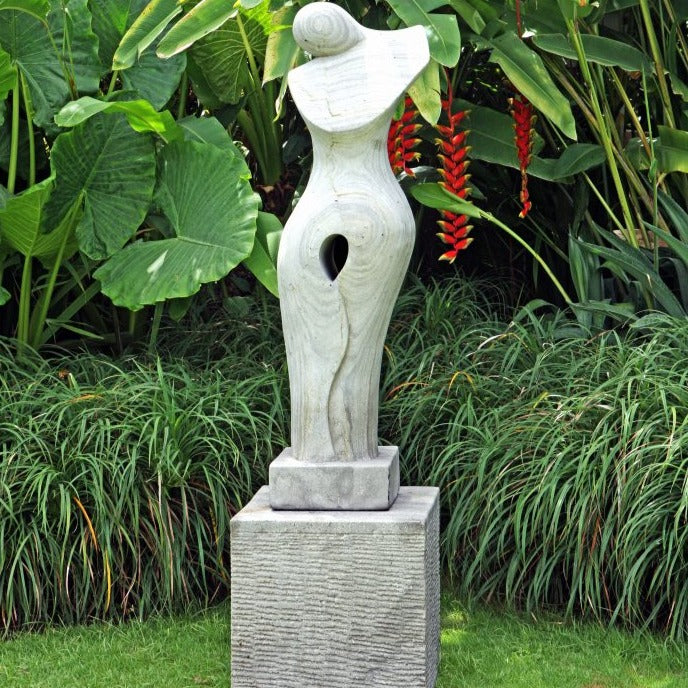 Joanne Stone Sculpture With Plinth