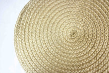 Load image into Gallery viewer, Skyline Design Jute Large Round Outdoor Pouf Stool