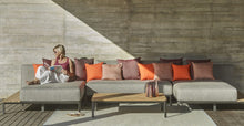 Load image into Gallery viewer, Skyline Design Mauroo Modular Right Chaise Lounge with Table- Colour Options