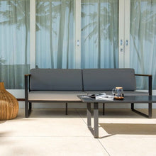 Load image into Gallery viewer, Skyline Design Taymar Lounging Metal Garden Sofa