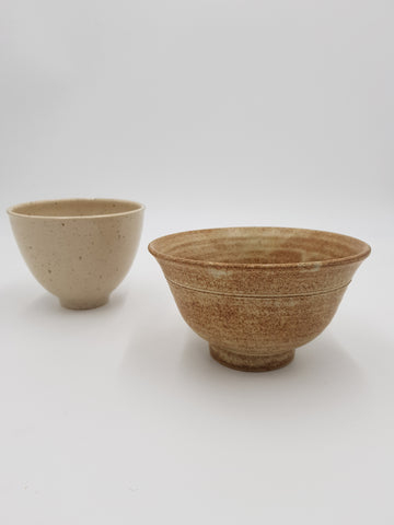 Collection of ceramic bowls (unknown donated work)