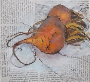 Orange Beets by Wendy Lovegrove