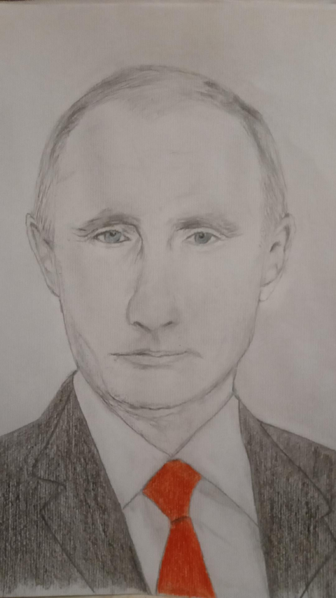 Putin by Caroline Wallis-Newport