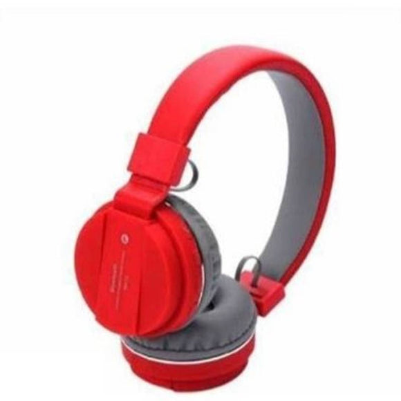 SH12 Bluetooth Headset Red