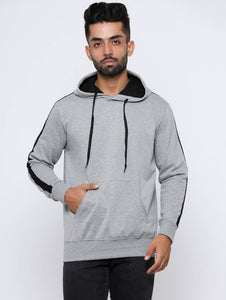 Men Full Sleeve Sweatshirts With Hood