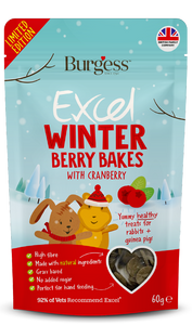 Burgess excel winter berry bakes 60g - Hoppyn