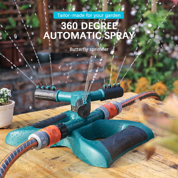 360 Degree Auto Rotating Sprinkler