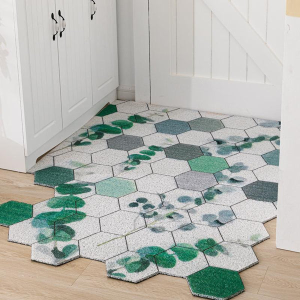 Washable Hexagon Carpet