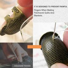 Load image into Gallery viewer, Sewing Thimble Finger Protector