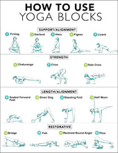 "Load image into Gallery viewer, Yoga Premium Blocks ""Set of 2PCs"""