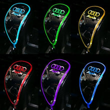 Load image into Gallery viewer, LED Light Car Sign Shift Knob