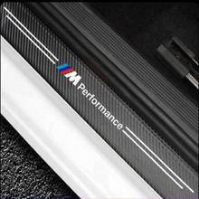 Load image into Gallery viewer, Carbon Car Door Sills Stickers( 4PCS )