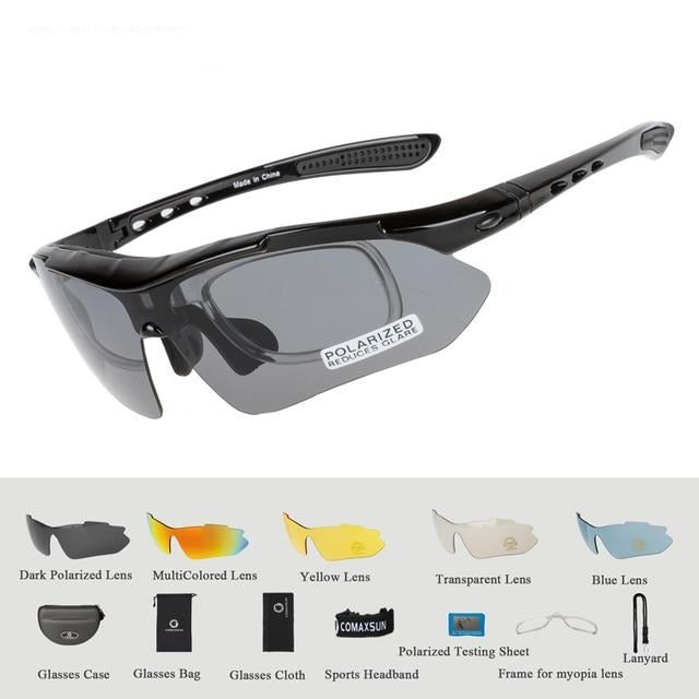 Professional Polarised Cycling Glasses