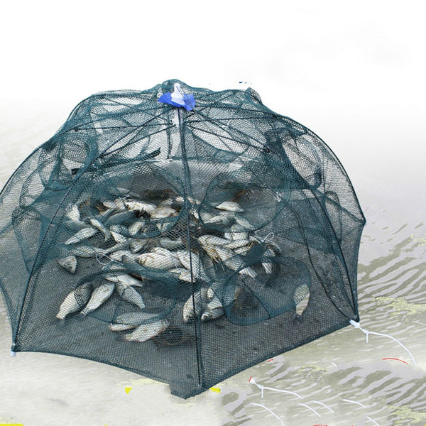 Foldable Strengthened Fishing Trap Net