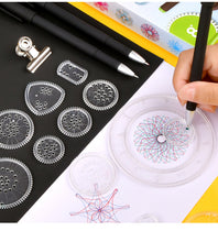 Load image into Gallery viewer, Spirograph Geometric Ruler