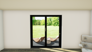 Schuco ASS70FD LEFT Open In FOLDING 2100mm Width X 2095mm (Supply Only) Standard Size - J20 Bifolds