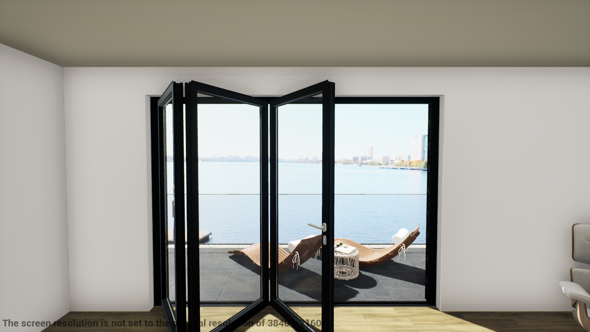 Schuco ASS70FD LEFT Open In FOLDING 3000mm Width X 2095mm (Supply Only) Standard Size - J20 Bifolds