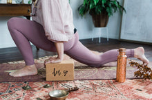 Load image into Gallery viewer, YogaTribe Swami Step Cork Yoga Block - Let Go