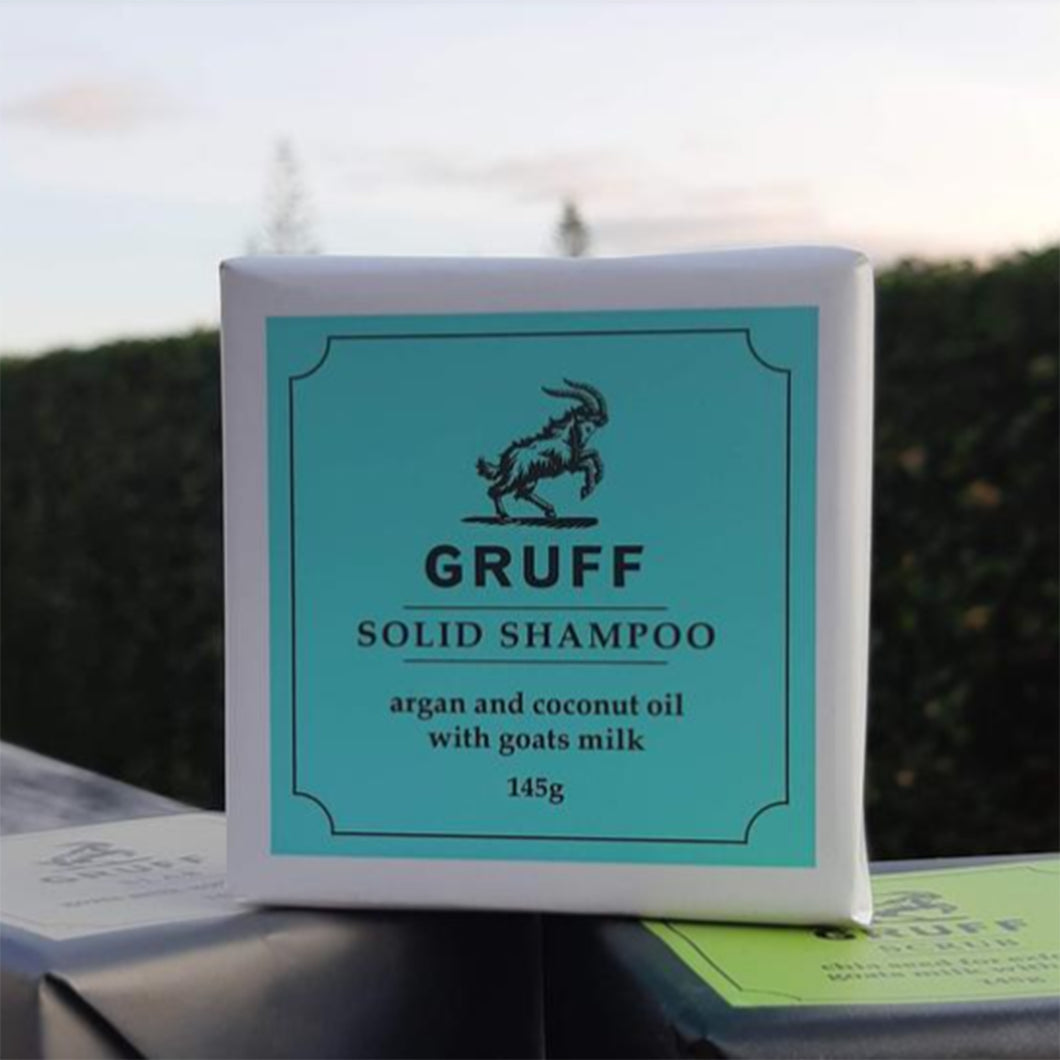 Solid Shampoo by Gruff Soap