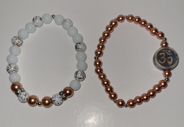 Rich in OM Bracelet Set