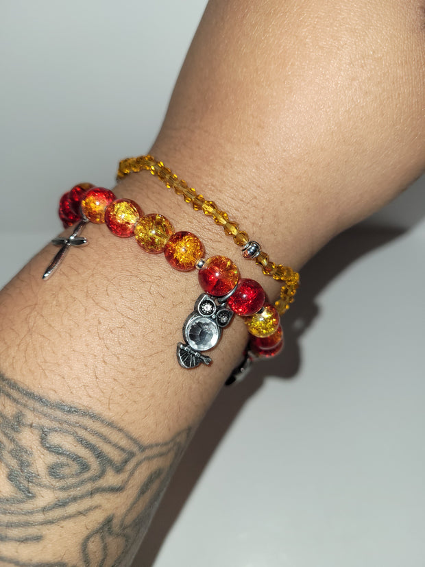 Fire Magic Bracelet Set